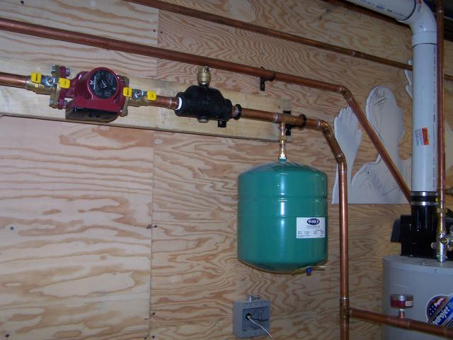 Hot water heating system